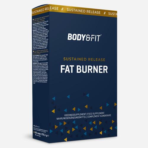 Sustained Release Fat Burner - Body & Fit - 60 Kapslar