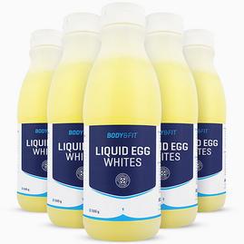 Claras de huevo líquidas