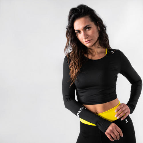 Perfection stretch Cropped top - Body & Fit sportswear - L