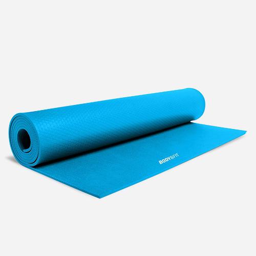 Fitness & Yoga mat - Blauw