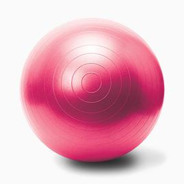 Gymnastikball mit Pumpe - Pink