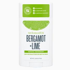 Schmidt's Natural Bergamot & Lime Deodorant Stick 75gr