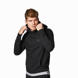 Sweatshirt com capuz para homem – Preto