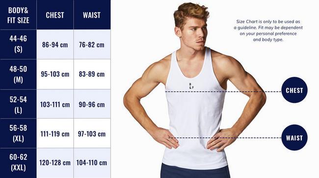 Men's Performance T-shirt Light Grey Nutritional Information 1