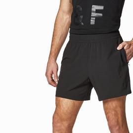 Męskie spodenki do biegania w kolorze czarnym