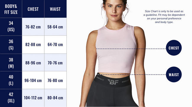Women's Sport Bra Dot Print Nutritional Information 1