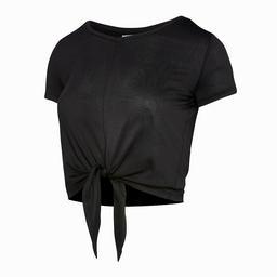 ウィメンズtシャツ スモールロゴ ブラック Body Fit