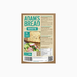 Adams - Pão sem glúten rico em proteína