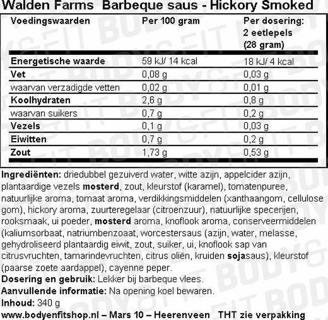 Barbecue Sauce Nutritional Information 4