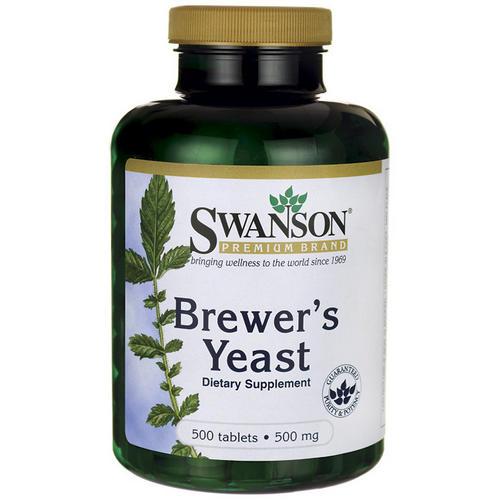 Brewers Yeast (levure de bière) 500mg