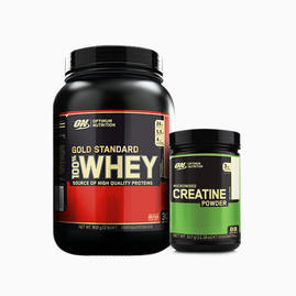 ON Gold Standard Whey 908g & Creatine 317g
