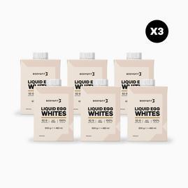 Pack Promo Blancs d'œufs liquides (3x6)