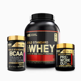 Bundle Gold Standard BCAA Pre-Workout