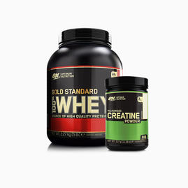 Gold Standard 100% Whey (2270 gram) & Creatine (micronized)