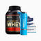 Lote de Gold Standard Whey y Clean Protein Bars