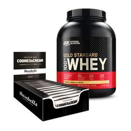 Gold Standard Whey 2.27kg & Barebells Protein Bars