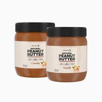 Pacchetto Burro di Arachidi Natural e Crunchy