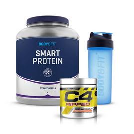 스마트 프로틴 (2kg) + C4 립트 (30 회분) + 700ml 셰이커