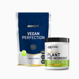 Vegan Perfection 986g & ON plant pre-workout