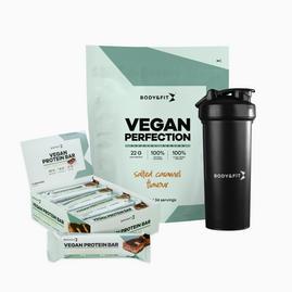 Vegan Perfection 2.26kg + Vegan Protein Bars + Shaker