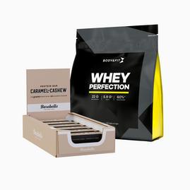 Whey Perfection 2.27kg & Barebells Protein Bars (box)