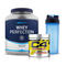 Whey Perfection 2.27kg + C4 Ripped (30 Servings) + Shaker