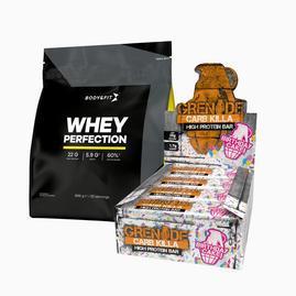 Zestaw Whey Perfection 2.27kg + Carb Killa Bars