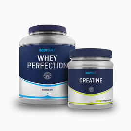 Whey Perfection 2.27kg & B&F Creapure (500g)