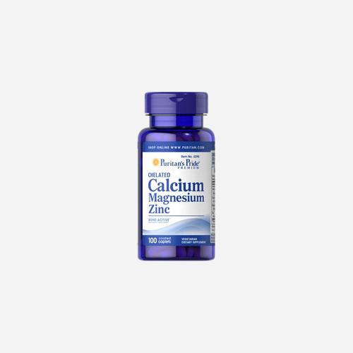 Chelated Calcium 1000 mg, Magnesium 400 mg & Zink 25 mg