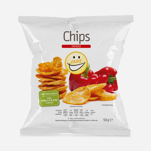 Chips (high protein & reduced energy)
