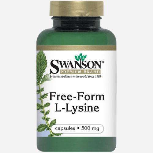 Free-Form L-Lysin 500 mg