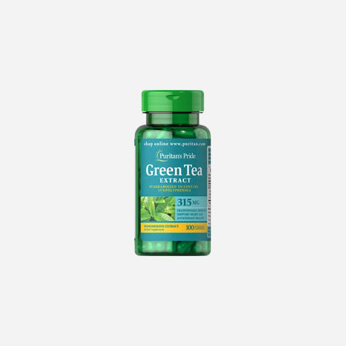 Green Tea Standardized Extract 315 mg