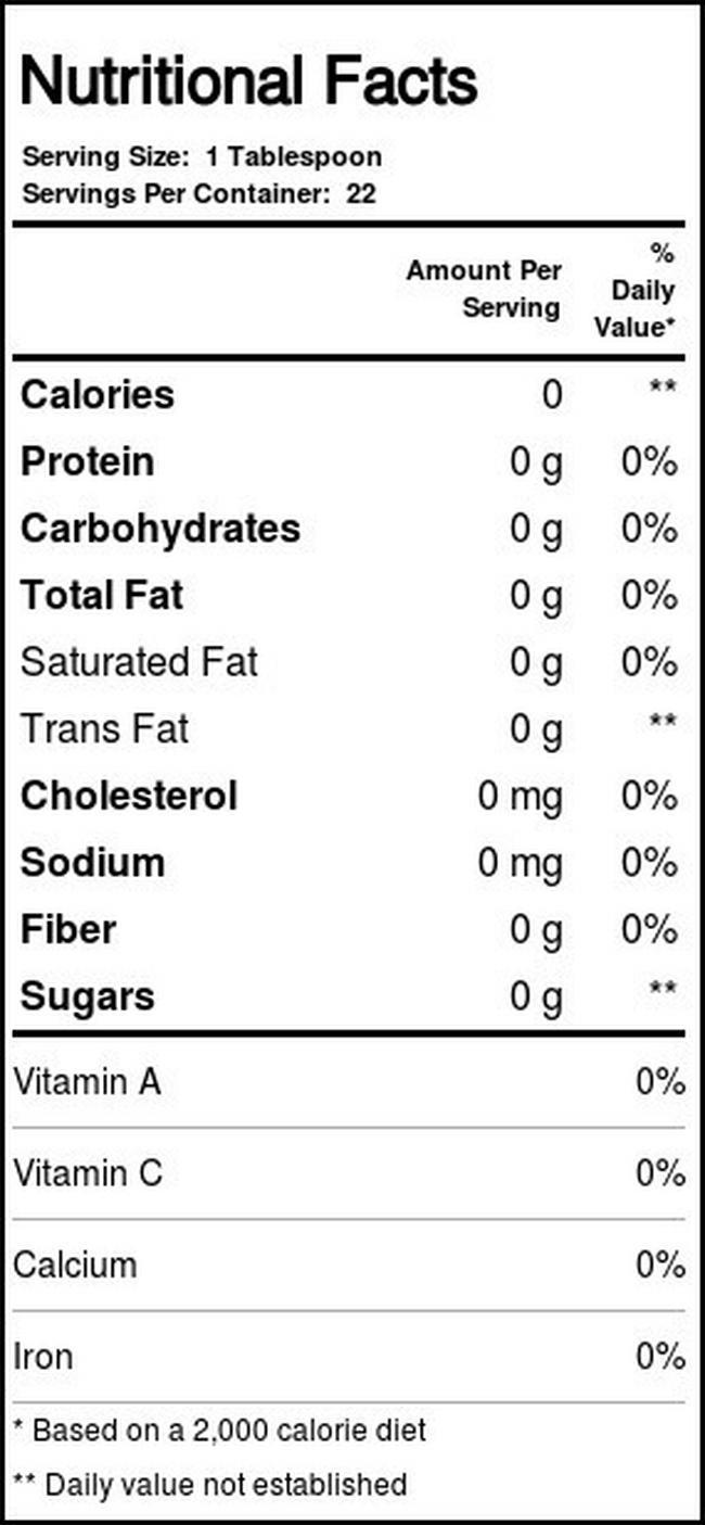 Confitures Jam & Jelly Fruit Spread Nutritional Information 7