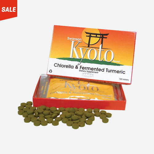 Kyoto Chlorella & Fermented Turmeric
