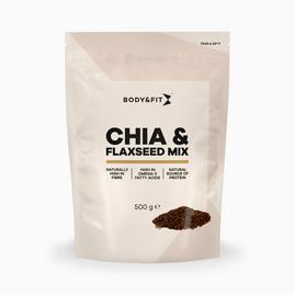Omega-3, chia i siemię lniane