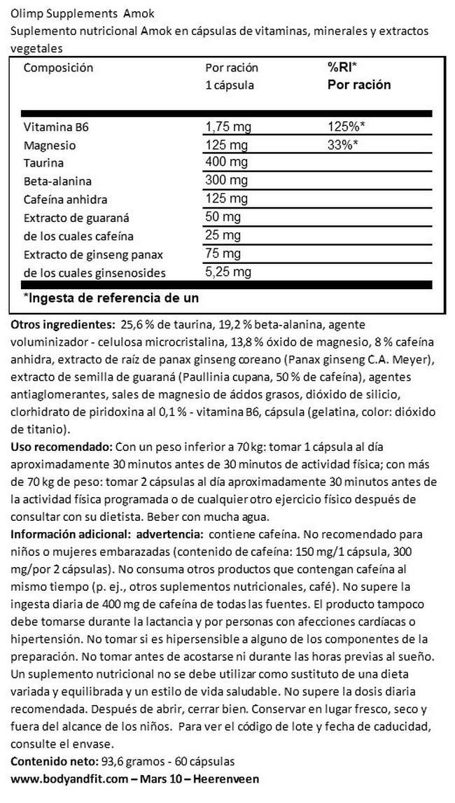 Amok Nutritional Information 1