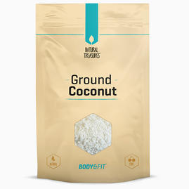 Pure Kokos gemahlen
