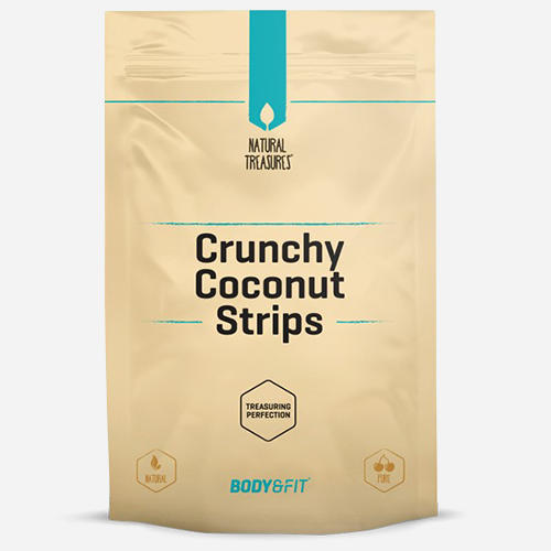 Crunchy Coconut Strips