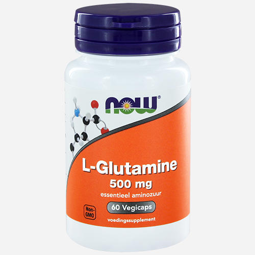 L-Glutamine, 500mg