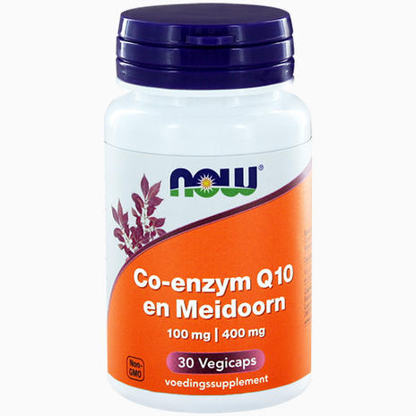 CoQ10, 100mg, with 400mg Hawthorn Berry