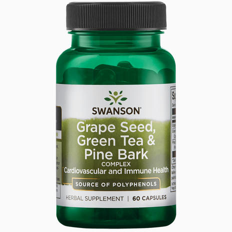 Grapeseed, Green Tea & Pine Bark
