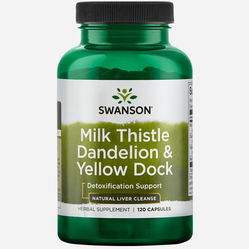 Milk Thistle, Dandelion, Yellow Dock