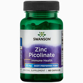Zinc Picolinate Body Preferred form 22mg