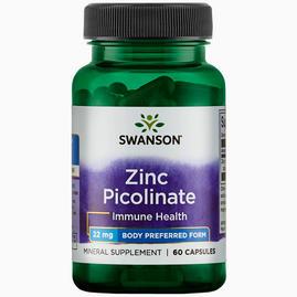 Zinc Picolinate Body Preferred form 22mg
