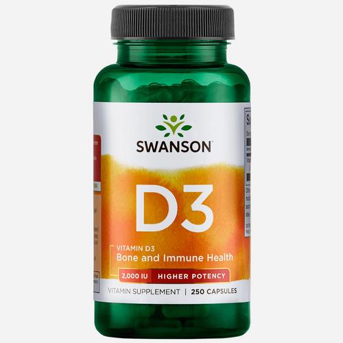 High Potency Vitamine D-3 2000IU