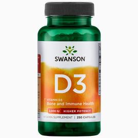 Vitamina de elevada potência D-3 2000IU