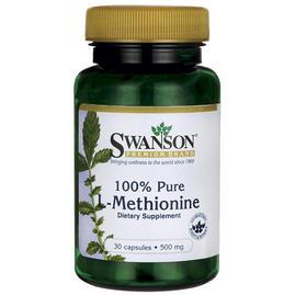 100% Pure L-Methionine 500mg