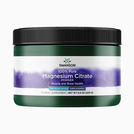 100% Pure Magnesium Citrate Powder