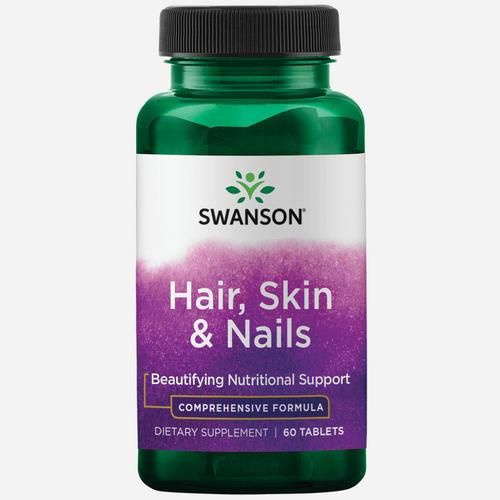 Swanson Hair, Skin & Nails Tabs - 60 tabs