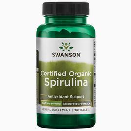100% Certified Organic Spirulina 500mg